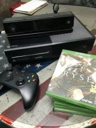 Xbox one 500 G com um controle mais Knect