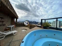CB00059 Cobertura Duplex de 5 quartos com Jacuzzi e vista para o Mar na Praia do Morro