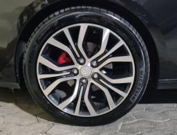 Jogo de Rodas 18 5x114 com pneus Michelin em ótimo estado