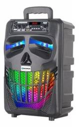 Caixa De Som Bluetooth Hoopson Rbm017 Led Rgb - Loja Natan Abreu