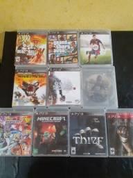 Jogos PS3 semi novo