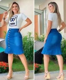 Título do anúncio: saia midi evangelic jeans