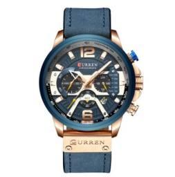 Relógio de Pulso Curren 8329 Quartzo/3 Submostradores Masculino
