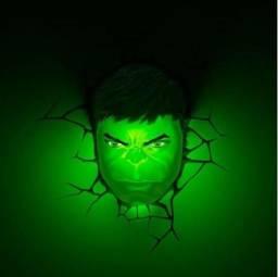 Luminária do Hulk 3D