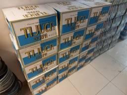 14 Pacotes de Cerveja Tijuca Pilsen Long Neck