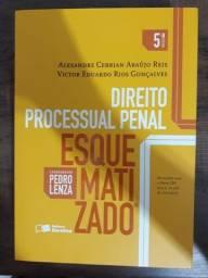 Kit 2 Livros Direito Processual Penal e Direito Penal