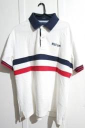 Camisa Polo Tommy Hilfiger Original Tamanho L/G Branca