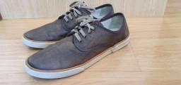 Título do anúncio: calçado em couro Democrata tabaco-Tamanho 41