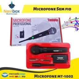 Microfone Sem Fio | Tomate MT-1002