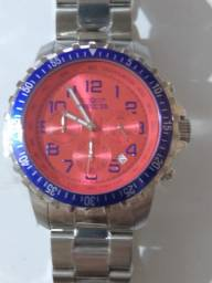 Invicta Specialty Red Dial Blue Bezel