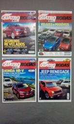 Revista Quatro Rodas Ano 2015 + Brindes