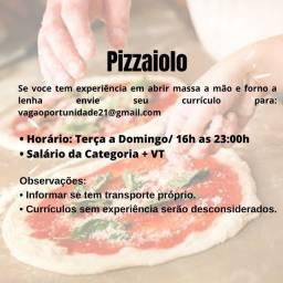 Título do anúncio: Pizzaiolo