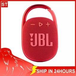Título do anúncio: Alto-falante JBL Clip 4 portátil com bluetooth red