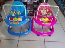 Andador Bebê Infantil Menino Toy Azul  rosa - Tutti Baby