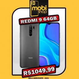 Xiaomi Redmi 9 64GB Global / Ganhe Brinde / 12x95