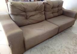 Vendo sofá Jacaúna 4 lugares retrátil e articulado
