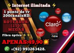 Título do anúncio: Internet ponto de tv Manaus-AM