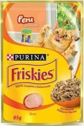 Sachet Saches comida para gatos / filhotes friskies purina