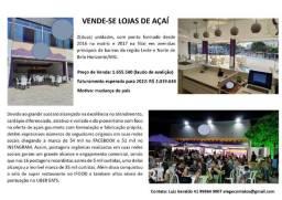 Título do anúncio: Vende-se lojas de Açaí em Belo Horizonte/MG