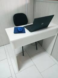 Promoção Mesa Escrivaninha MDF NOVAS Para Manicure Recepção Atendimento Estudo