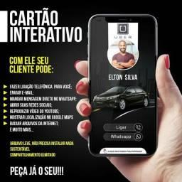 Cartão Interativo/Cartão de Visita Digital.