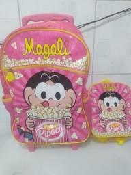 Mochila e Lancheira Infantil Magali
