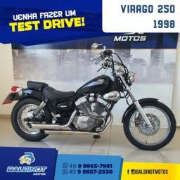 Título do anúncio: Virago 250 1998 Preta