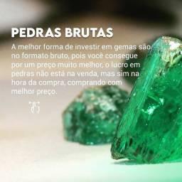 Esmeraldas Brutas diretamente do Garimpo da Bahia