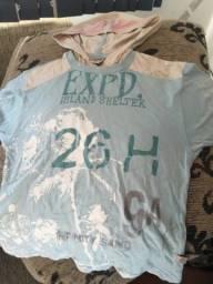 Camiseta numero 4 com toca