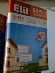 Oferta tinta semi brilho cores claras 18L lavável rende 500m² na Cuiabá tintas..