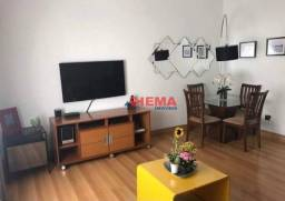 Título do anúncio: Apartamento com 3 dormitórios à venda, 110 m² por R$ 435.000,00 - Campo Grande - Santos/SP