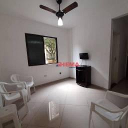 Título do anúncio: Apartamento com 1 dormitório à venda, 30 m² por R$ 290.000,00 - Ponta da Praia - Santos/SP