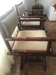 Jogo de 2 cadeiras