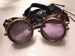 Óculos Vintage Soldador Rave - Novo