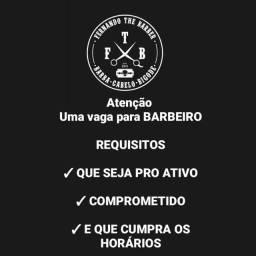 Título do anúncio: VAGA BARBEIRO