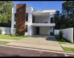 Casa Duplex 386m² no Alphaville 2 c/ 5 suítes sendo 1 Master / Piscina