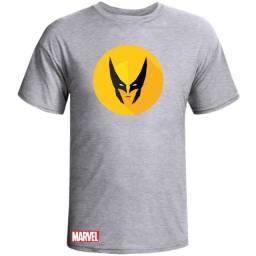 Camiseta Wolverine Marvel Algodão