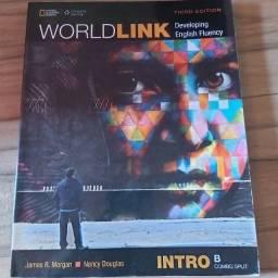 Livro Worldlink Intro B- 3rd-Livro Usado apagados escritos de lápis
