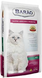 Ração Barão Premium Gato Mix (Carne, Peixe e Vegetais) - 25 kg