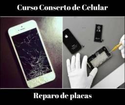 Curso de Conserto de Celular, Reparo de Placas ( Vídeo Aulas )