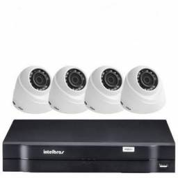 Kit DVR 1004 HD + 4 câmeras HD