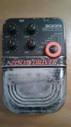 Pedal Zoom Driver 5000 - Zoom Boss Pod Guitarra