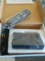 Conversor Tv Digital - Sage (NOVO) Full HD 1080 Pixels-HDMI/RCA