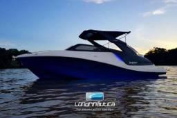 NX 250 com Mercruiser 4.5 250HP Bravo 3 2018 Nova Lancha Fibra de Vidro 25 pés - 2018