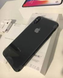 Apple IPhone X 256gb - Cinza Espacial - Super Novo