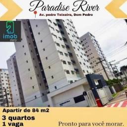 Paradise River com 3 quartos no Dom Pedro (Cobrimos qualquer oferta)
