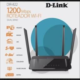Roteador Wi-Fi 4 antenas 1200mbps 5Ghz