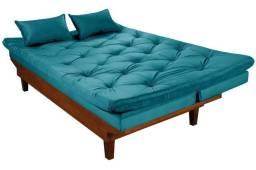 Sofa Cama Caribe Reclinavel 3 Posições Essencial Estofados