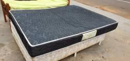 Colchão casal 1.58cm x 1.98cm usado espuma