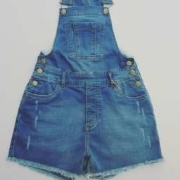 Jardineira/macacão/macaquinho jeans